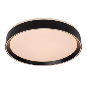 Lucide NURIA - Ceiling light - Ø 40 cm - LED Dim. - 1x24W 2700K - 3 StepDim - Black - 79182/24/30