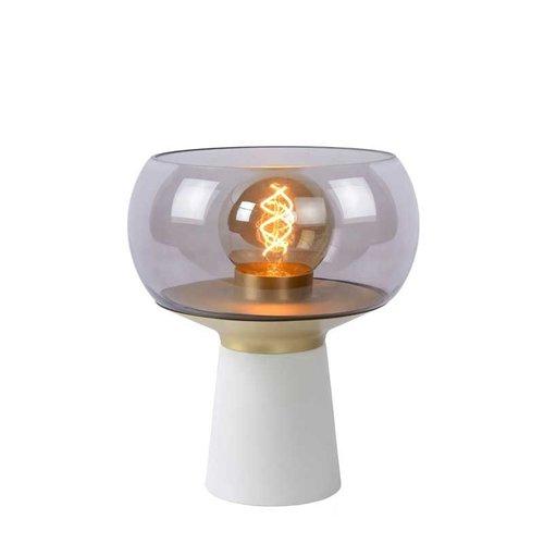 Lucide FARRIS - Tafellamp - 1xE27 - Wit - 05540/01/31