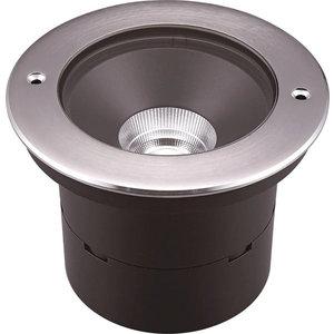 Absinthe Origin Round M Grondspot 10W 52° IP67 Roestvrij staal
