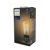 HUE White filament lamp ST64 E27 Edison with visible filament