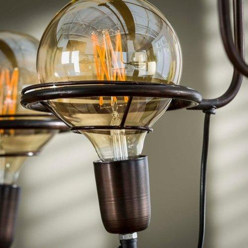 Liolights Liolights Saturn Wood Hanging lamp incl. 5 x Ø20cm LED light source