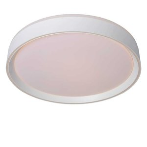 Lucide NURIA - Ceiling lamp - Ø 40 cm - LED Dim. - 1x24W 2700K - 3 StepDim - White