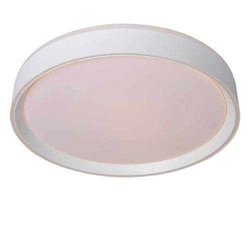 Lucide NURIA - Plafonnière - Ø 40 cm - LED Dimb. - 1x24W 2700K - 3 StepDim - Wit