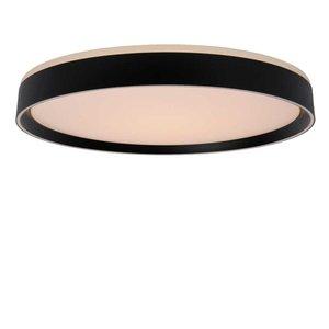 Lucide NURIA - Ceiling lamp - Ø 50 cm - LED Dim. - 1x36W 2700K - 3 StepDim - Black - 79182/36/30