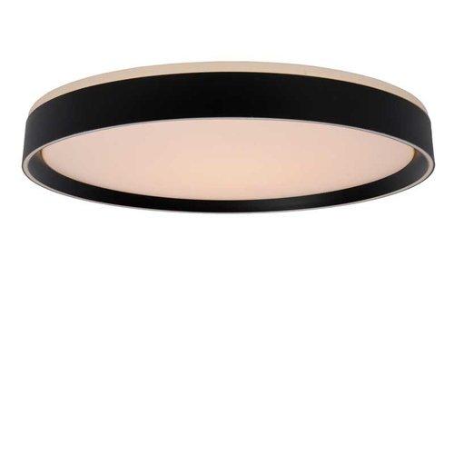 Lucide NURIA - Plafonnière - Ø 50 cm - LED Dimb. - 1x36W 2700K - 3 StepDim - Zwart - 79182/36/30