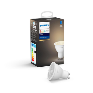 Philips Hue Lamps Bluetooth GU10 Warm White Light