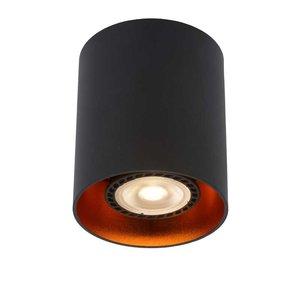 Lucide BIDO - Ceiling spotlight - Ø 8 cm - 1xGU10 - Black - 22965/01/30