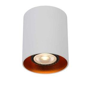 Lucide BIDO - Ceiling spotlight - Ø 8 cm - 1xGU10 - White - 22965/01/31