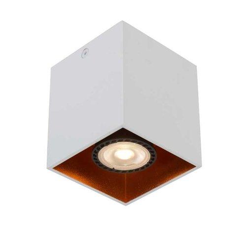 Lucide BIDO - Ceiling spotlight - 1xGU10 - White - 22966/01/31