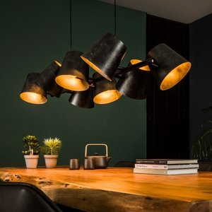 LioLights Hanging lamp 8x Ø18 Kinetic