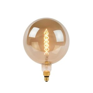 GIANT BULB - Filament lamp - LED Dim. - E27 - 1x10W 2200K - Fumé - 49053/10/65