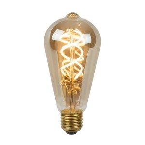 Lucide STEP DIM BULB - Filament lamp - Ø 6,4 cm - LED Dimb. - E27 - 1x5W 2200K - 3 StepDim - Fumé - 49064/05/65