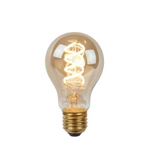 Lucide STEP DIM BULB - Filament lamp - Ø 6 cm - LED Dim. - E27 - 1x5W 2200K - 3 StepDim - Fumé - 49065/05/65