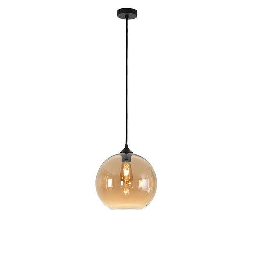 LioLights Hanglamp MARINO amber glas 30cm