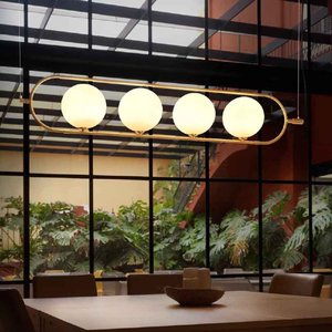 Aromas Del Campo LED hanging lamp ABBACUS