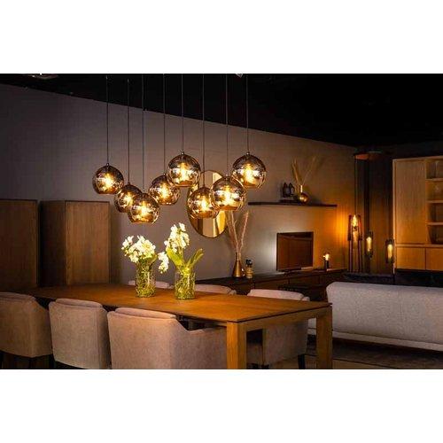 ETH Hanging lamp Orb - 8 lights - black - 05-HL4271-3036