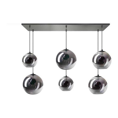 ETH Hanging lamp Orb - 6 lights - black - 05-HL4270-3036