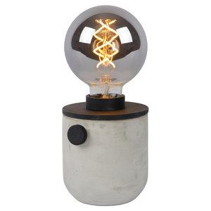 Lucide TANNER - Table lamp - Ø 10 cm - 1xE27 - Black - 39521/01/30