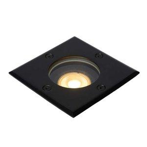 Lucide BILTIN - Ground spotlight Outdoor - 1xGU10 - IP67 - Black - 11800/01/30