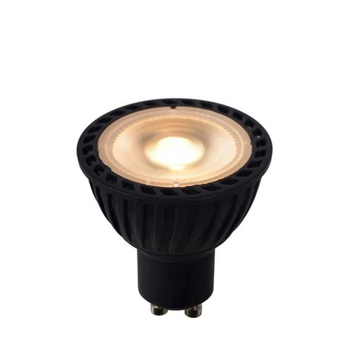 Lucide LED BULB - Led lamp - Ø 5 cm - LED Dimb. - GU10 - 1x5W 3000K - Zwart - 49006/05/30
