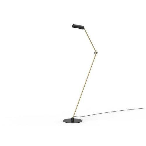 Lucide SLENDER - Vloerlamp - 1xE27 - Zwart - 05741/01/30