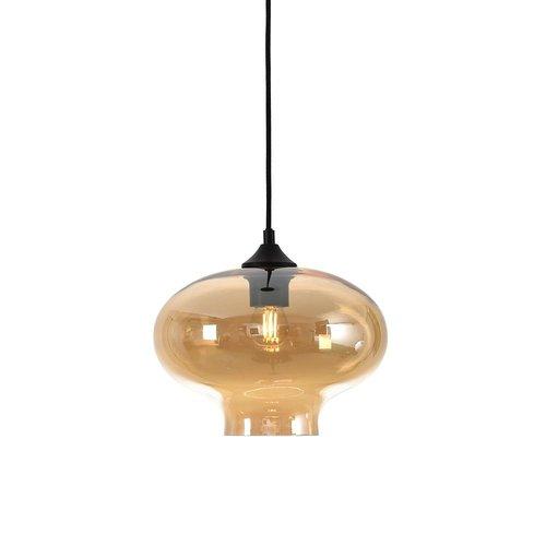 LioLights Hanging lamp TORONTO - Amber Glass