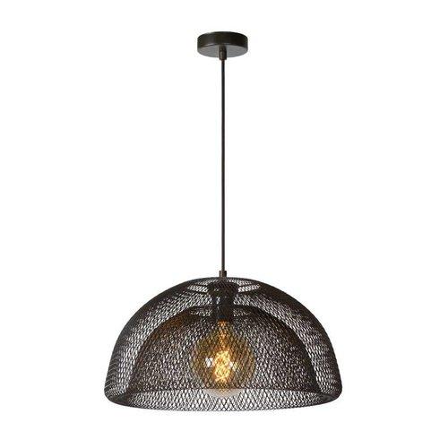 Lucide MESH - Hanging lamp - Ø 46 cm - 1xE27 - Black - 78387/01/30