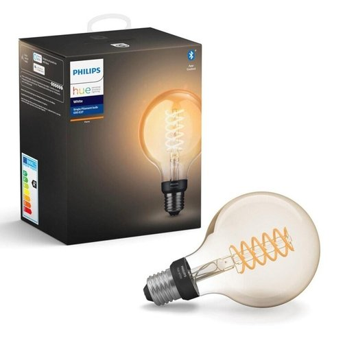 Philips HUE Lamp E27 (Filament) 7W Bluetooth Goud