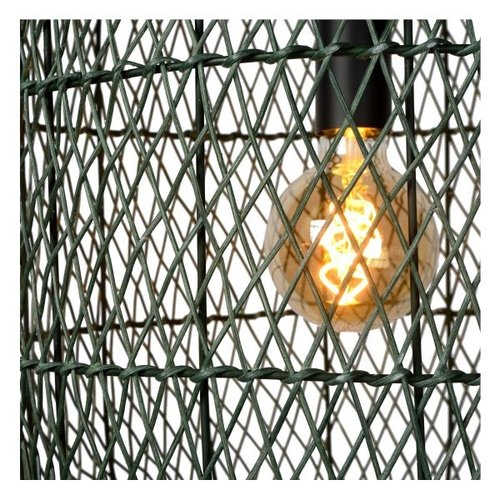 Lucide GARVE - Hanglamp - Ø 40 cm - 1xE27 - groen  - 03436/40/33