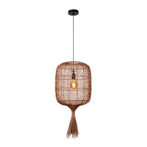 Lucide GARVE - Hanglamp - Ø 40 cm - 1xE27 - okergeel