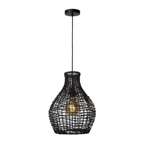 Lucide ALBAN - Hanging lamp - Ø 35 cm - 1xE27 - Black