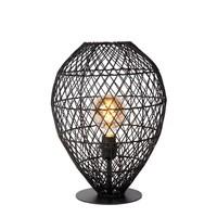 KENJIRO - Tafellamp - Ø 40 cm - 1xE27 - Zwart - 03539/01/30