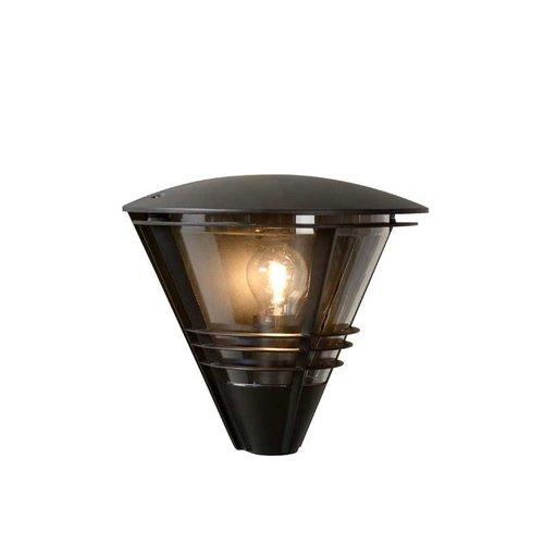 Lucide LIVIA - Wandlamp Buiten - 1xE27 - IP44 - Zwart - 11812/01/30