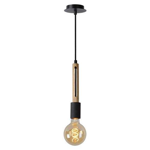 Lucide TANNER - Hanglamp - 1xE27 - Zwart - 39420/01/76