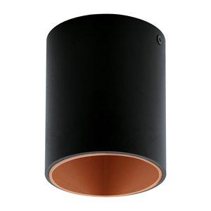 EGLO LED surface-mounted spot Polasso Black/Copper