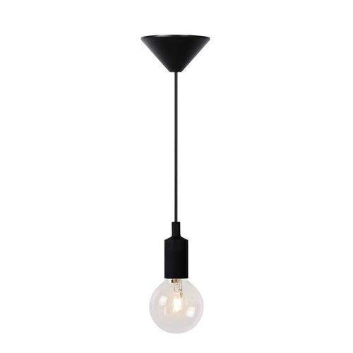 Lucide FIX - Hanglamp - Ø 10 cm - 1xE27 - Zwart - 08408/01/30