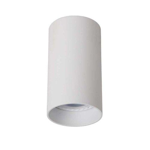 Lucide DELTO - Ceiling spotlight - Ø 5.5 cm - LED Dim to warm - GU10 - 1x5W 2200K/3000K - White