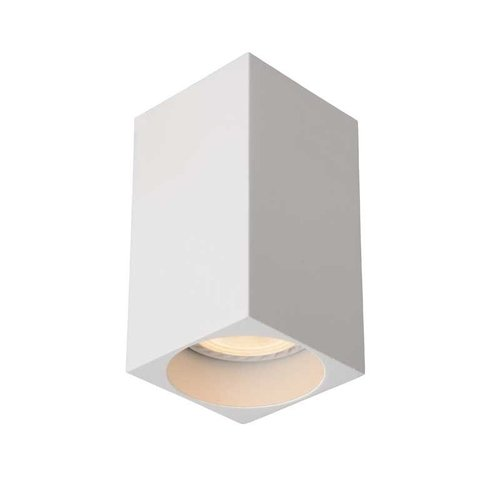 Lucide DELTO - Plafondspot - LED Dim to warm - GU10 - 1x5W 2200K/3000K - Wit - 09916/06/31