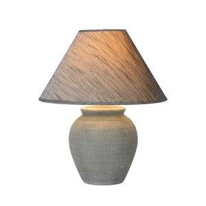 Lucide RAMZI - Tafellamp - Ø 35 cm - 1xE27 - Grijs - 47507/81/36