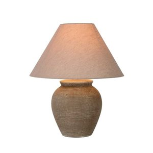 Lucide RAMZI - Table lamp - Ø 35 cm - 1xE27 - Brown - 47507/81/43
