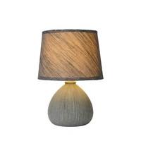 RAMZI - Tafellamp - Ø 18 cm - 1xE14 - Grijs - 47506/81/36