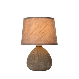 Lucide RAMZI - Table lamp - Ø 18 cm - 1xE14 - Brown - 47506/81/43