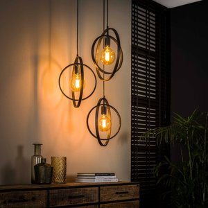LioLights Hanging lamp 3L Turn around stepped