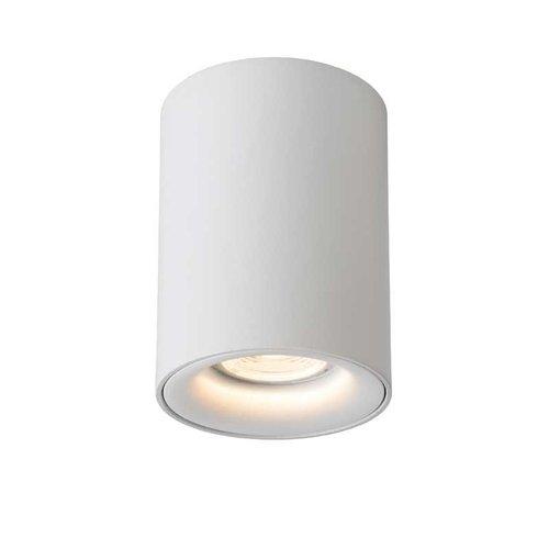 Lucide BENTOO-LED - Plafondspot - Ø 8 cm - LED Dimb. - GU10 - 1x5W 3000K - Wit - 09912/05/31