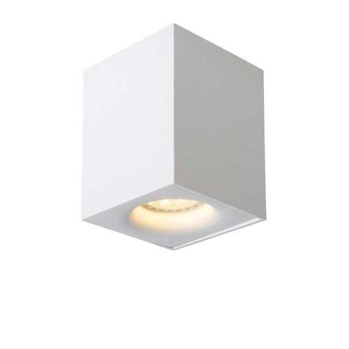 Lucide BENTOO-LED - Plafondspot - LED Dimb. - GU10 - 1x5W 3000K - Wit - 09913/05/31