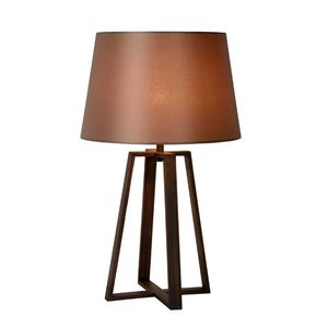 Lucide COFFEE - Table lamp - Ø 38.5 cm - 1xE27 - Brown - 31598/81/97