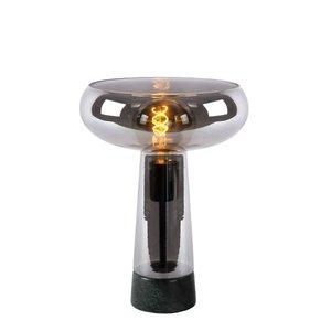 Lucide LISTELLE - Table lamp - Ø 28 cm - 1xE27 - Fumé