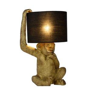 Lucide EXTRAVAGANZA CHIMP - Table lamp - Ø 30 cm - 1xE14 - Black - 10502/81/30