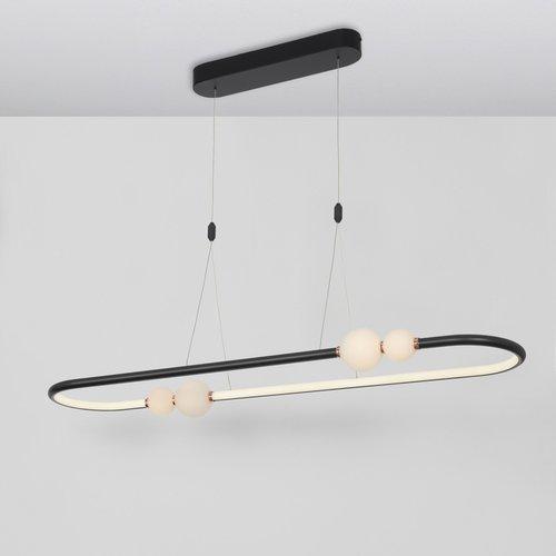 Nova Luce LED hanglamp CELIA zwart 100 x 64 x 120 cm