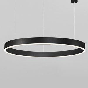 Nova Luce LED hanglamp MOTIF zwart Ø 80 x 120 cm
